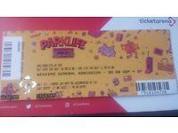 Parklife full weekend ticket