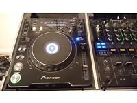 CDJ 1000 MK3 PAIR with deck savers and Seyfour stand