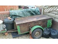 Trailer in reasonable condition but needs of some refurbishment