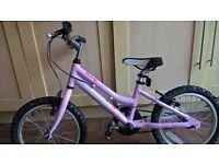 """Ridgeback""""Melody"""" pink childs bicycle"""