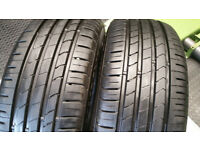 205 55 16 2 x tyres Kumho Ecesta HS51