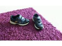 Boys clarks shoes 7.5f