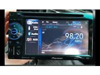 PIONEER AVH-2400BT DIVX DVD USB MULTIMEDIA BLUETOOTHCD PLAYER STEREO SYSTEM Screen