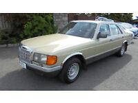 For Sale 1983 Mercedes 380SE Saloon