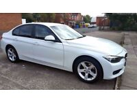 2014 - BMW 3 Series - White - Diesel - Full BMW Service History - New Shape with Loads of Extras