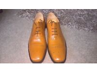 Mens smart leather tan shoe size 13 *brand new*