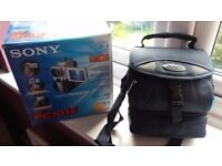 Sony pc101e camcorder (like new)