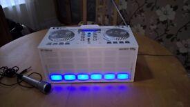 DJ MIxer Karaoke Bluetooth Party Speaker