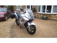 Honda vfr 800 vtec with luggage. Good runner nice clean bike