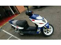 New mot Suzuki AY50 katana with new MOT
