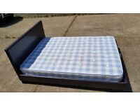 Double bed frame and mattress - can deliver