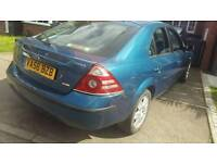 56plate cheap diesel top spec bargain ford mondeo ghia 6 service stamps