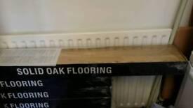 Solid oak hard wood flooring for sale. £300. Leicester
