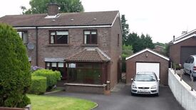 3-bedroom semi detached house in Dromore to rent.