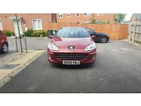 For sale peugeot 407 2.0hdi sport 09plate sat nav air con