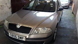 2007 registered Sokda Octavia 1.4 petrol