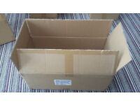 Cardboard boxes, heavy duty double wall, great for house moving, packaging
