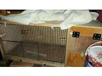 Cockateil love bird breeding cage and nest box