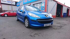 """07 Peugeot 207, 1.4 S 16V, ONLY 73,000 miles, Click our """"see all ads"""" for all our other cars."""