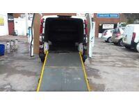 mercedes vito clean van 2007 with ramp
