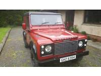 Land Rover Defender 90 Td5 with Galvanized Chassis