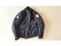 FASTWAY motorcycle jacket with inner lining – size XL