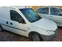 Vauxhall combo 1.7tdi 2002 reg breaking for parts