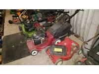 Job lot of approx 30 petrol mowers Honda, Mountfield etc