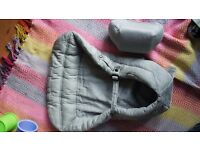 Ergobaby sling newborn insert and booster cushion