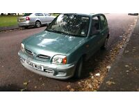 nissan micra 1.2 petrol excellent runner cheap insurance and fuel,ideal for 1st timer or deliveries!