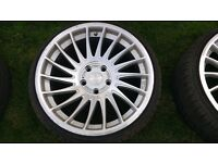 "3SDM 18"" Alloy Wheels and Tyres"