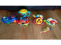 Collection of kids toys
