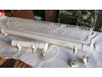 Two Tubular Electric Heaters