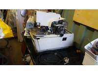 sewing machine .reece 103 keyhole machine