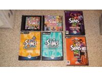 PC The SIMS Video Game Bundle (Nightlife, On Holiday, Unleashed + More)
