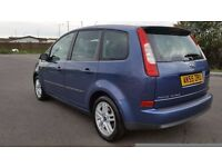 FORD C-MAX 1.6 IN EXCELLENT CONDITION. MOT AUGUST 2017. SERVICE HISTORY. ALL PREVIOUS MOT AVAILABLE