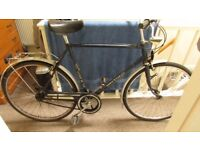 "Eurostar Mens Bicycle 21"" Sturmey Archer 3 Speed - needs some attention"