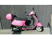 Piaggio Vespa lx 50cc one lady owner from new 495 ono