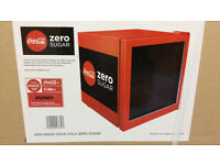 **** HUSKY COCA-COLA ZERO MINI FRIDGE **** BRAND NEW ****