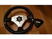 After market steering wheel Fits all japs mr2,subaru,mitsubishi,skyline,mazda,supra,