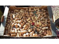 1000's of used, mixed size Natural & modern Corks, some fizz caps & wires - £10 per 100