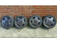 Vauxhall Cavalier Gsi Calibra 16v Cavalier Slab Alloys and 195/45/R15 Tyres