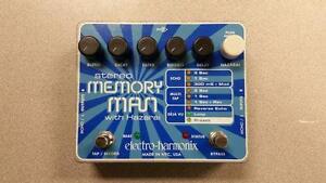 Electro Harmonix Memory Man W/Hazarai Pedal