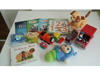 Bundle of baby toys and books only £3