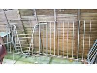 Horse rails gal gavrnized steel 3 weaver and rails