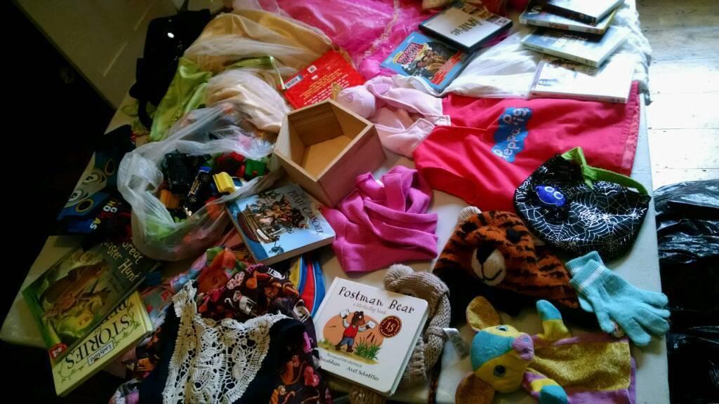 Job lots, 2 bin bags of random items