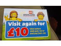 Lego land tickets