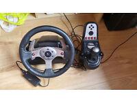 Logitech G25 Steering Wheel (no poedals)