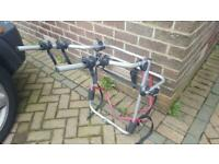 Halfords rear mounted 3 bike rack