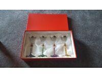 Beautiful boxed wine glasses